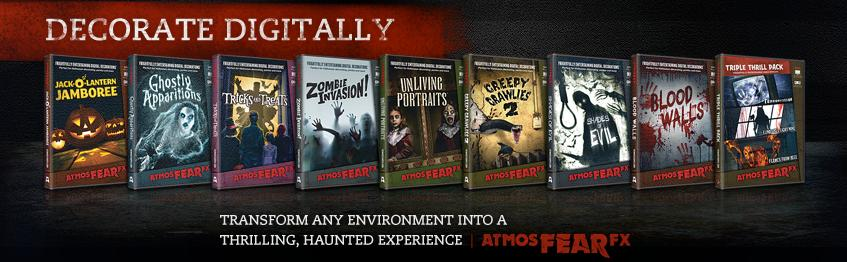 Simulate Ghosts Floating, and Zombies Walking About Your Halloween Haunted House Or Horror Themed Party!